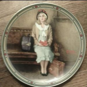 """""""Rockwell's American Dream"""" Series Collector Plate"""